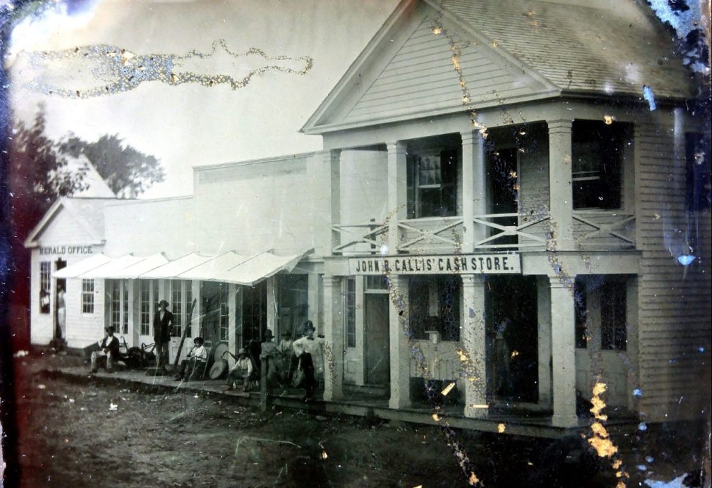 Herald Office and Callis Store, 19th century