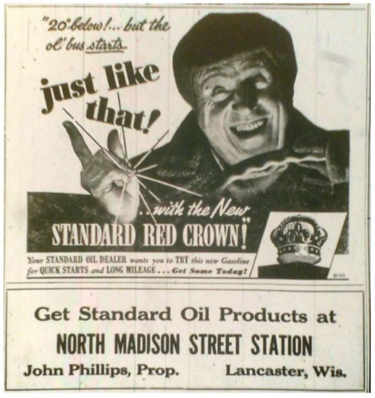 Standard Oil Advertisment