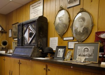 Photos and artifacts from the Pleasant Ridge community